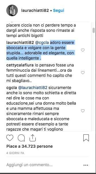 """La Chiatti duramente attaccata e criticata per via del figlio """"Conciare un maschietto così!"""""""