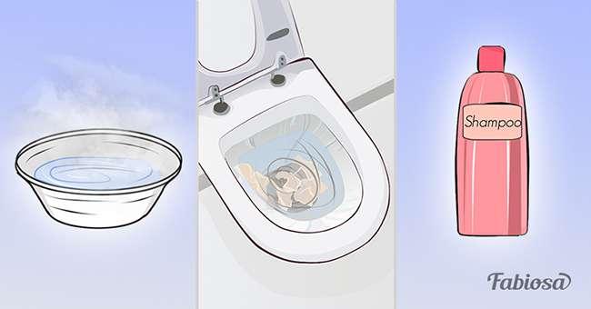 4 einfache methoden um eine toilette freizubekommen bevor man zu teuren chemikalien grei bei. Black Bedroom Furniture Sets. Home Design Ideas