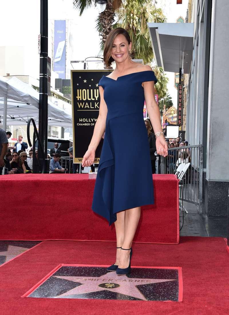 Jennifer Garner on the Hollywood Walk of Fame