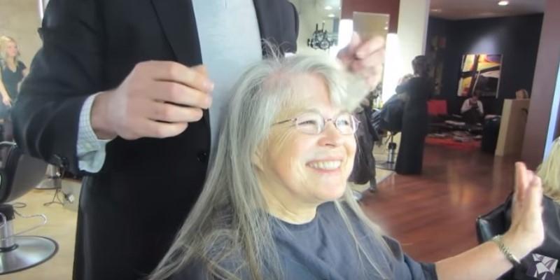 Two Decades Younger: 70-Year-Old Woman Gets A Life-Changing Makeover