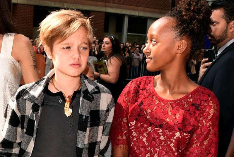 Angelina Jolies Tochter Shiloh wird immer mehr wie ein Junge. Sie hat sich im Laufe der Jahre sehr verändert