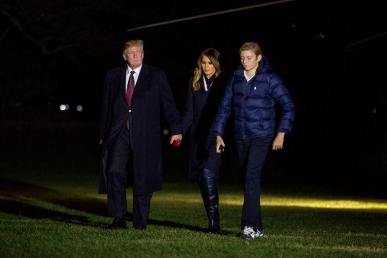 Melania Trump gibt seltenen Einblick in das Hobby von Sohn Barron und sein Leben im Weißen Haus