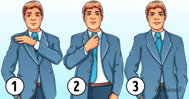 Langage corporel et devinette psychologique : pouvez-vous trouver lequel de ces hommes s'intéresse à vous ?