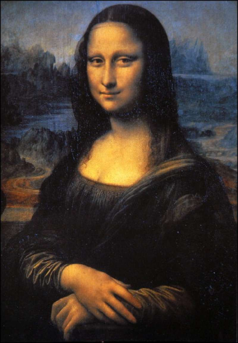 There Are 5 Differences Between These Mona Lisa Images. Can You Find Them?