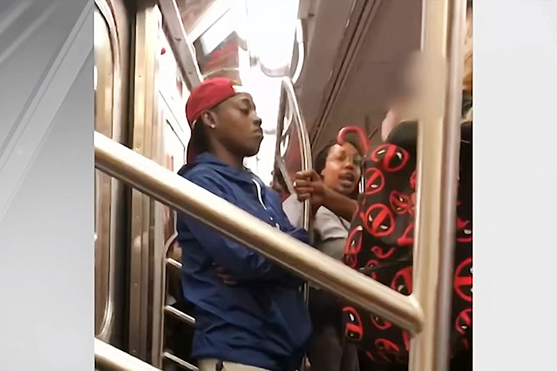 Mother Attacked On Train Because Her Son Pointed At Another Child's Costume. Is There A Way To Deal With Aggressive People?