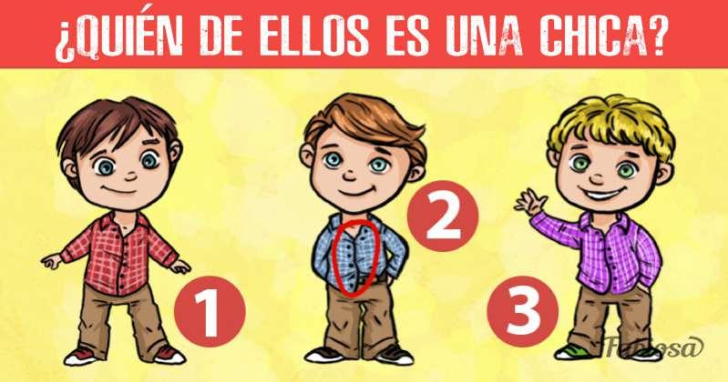 Examen para el conocimiento de historia: ¿cuál de estos 3 chicos es en realidad una chica?Examen para el conocimiento de historia: ¿cuál de estos 3 chicos es en realidad una chica?