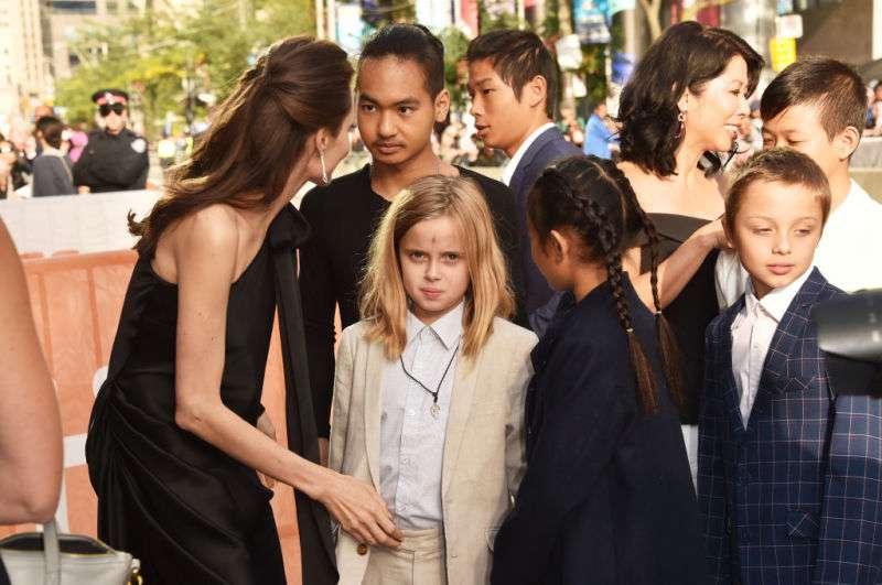 Nein, es war nicht vorbei! Angelina Jolies Tochter zeigte erneut ihr jungenhaftes Erscheinungsbild