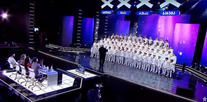 Children's Choir Literally Stun The Audience By Singing Queen's 'Bohemian Rhapsody' At 'Georgia's Got Talent'Children's Choir Literally Stun The Audience By Singing Queen's 'Bohemian Rhapsody' At 'Georgia's Got Talent'