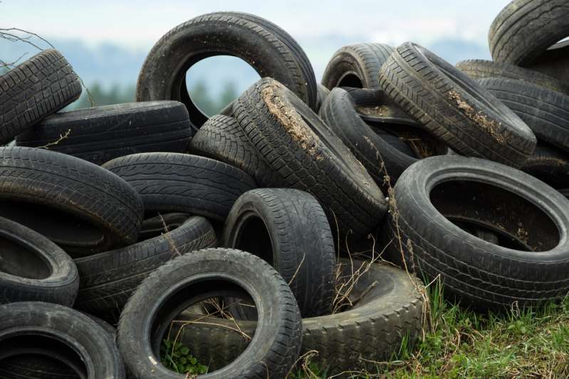 Neues Level von Recycling: Mann macht niedliche Tierbetten aus ausrangierten Fahrzeugreifen