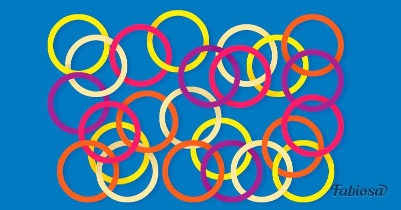 Загадка на внимательность: сколько кругов не связано друг с другом?Загадка на внимательность: сколько кругов не связано друг с другом?