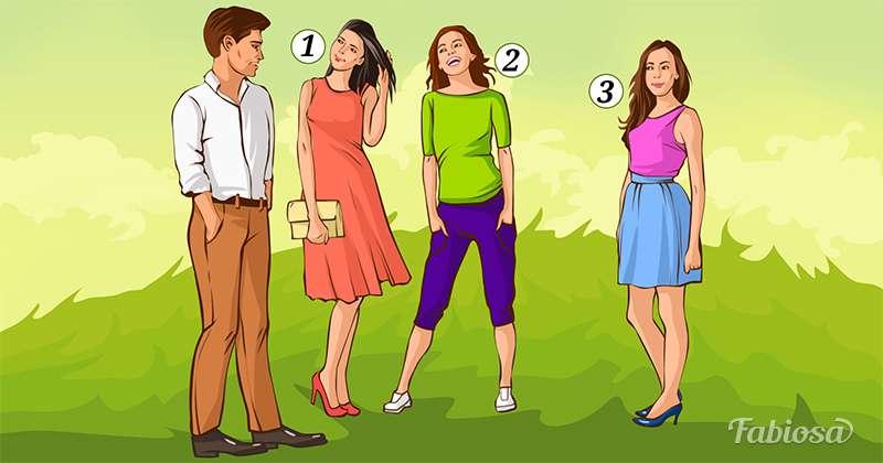 Logikproblem: In welches der 3 Mädchen ist der Junge verliebt?