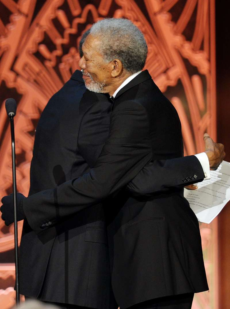 Betty White piange Morgan Freeman al tributo all'AFI Lifetime Achievement Award