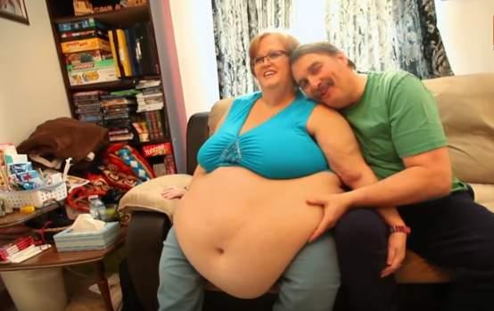 Selon elle, son tour de taille de 240 cm est le secret de son mariage réussi depuis 13 ans
