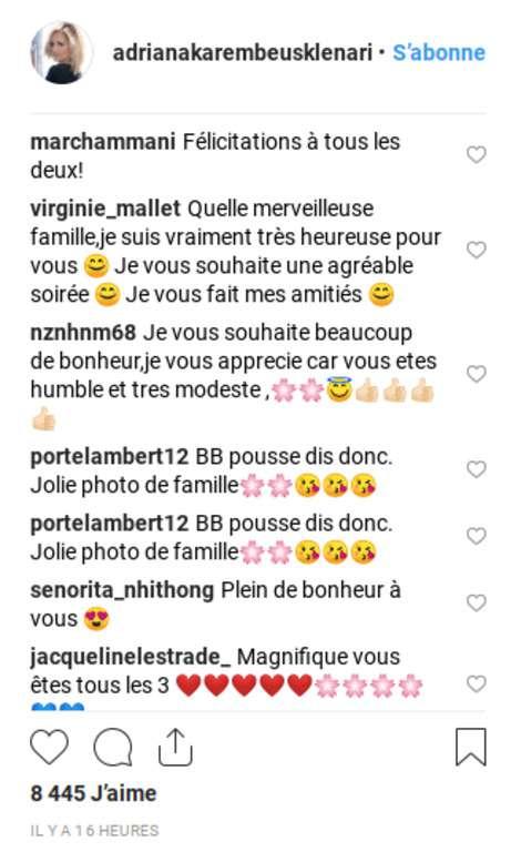 """""""Mes deux amours"""" : Adriana Karembeu partage une tendre photo de promenade en famille""""Mes deux amours"""" : Adriana Karembeu partage une tendre photo de promenade en famille"""