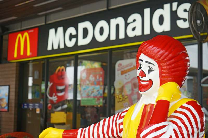 A MacDonald's Restaurant In Texas Recently Went Viral After A Photo Of Jesus Decoration Was Spotted On Its Window