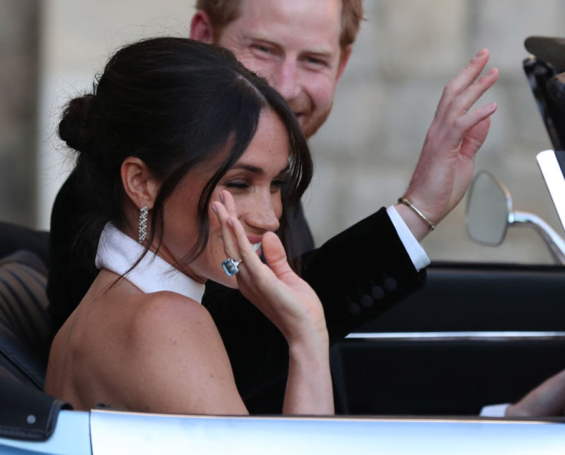 Princess Diana Lives On As Meghan Markle Honours Her Late Mother-In-Law By Proudly Wearing Her Aquamarine Ring