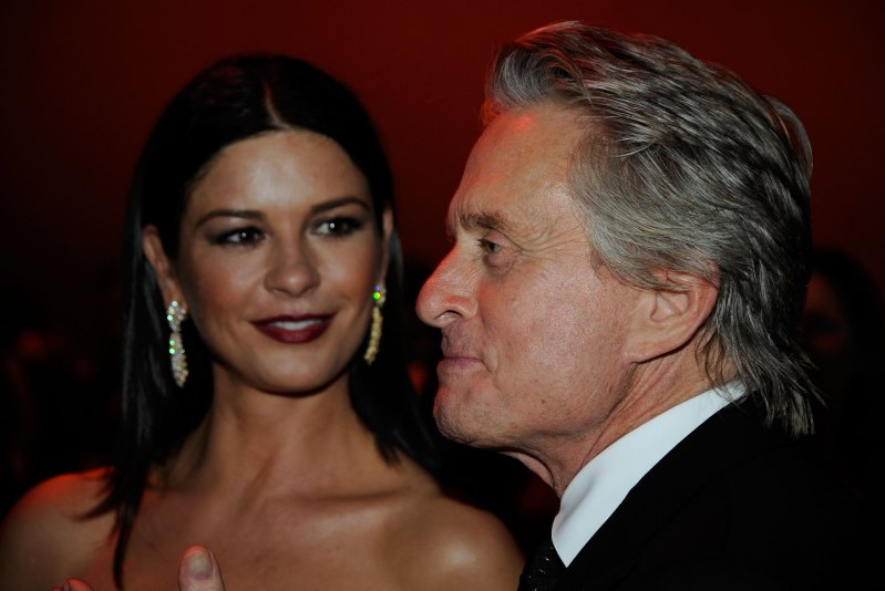 Michael Douglas Couldn't Hold Back Tears Watching Catherine's Surprise Performance For Him On Stage