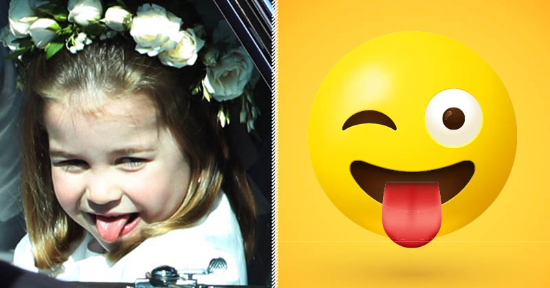 Royal Family Facial Expressions As Emojis? Yes, Please!