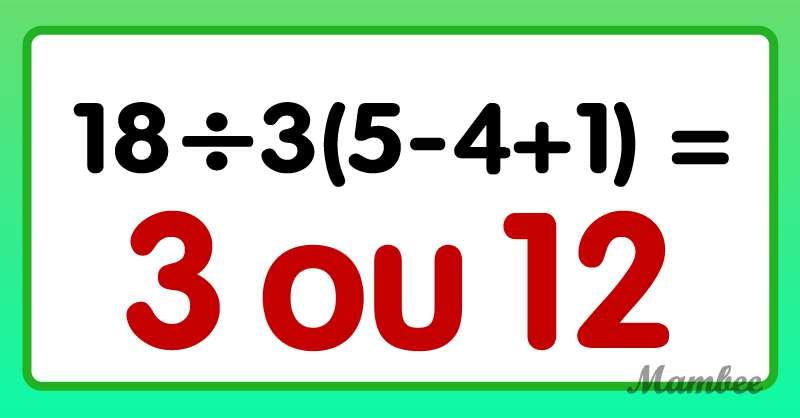Ce n'est pas ce que vous imaginez : arriverez-vous à résoudre cette difficile équation ?