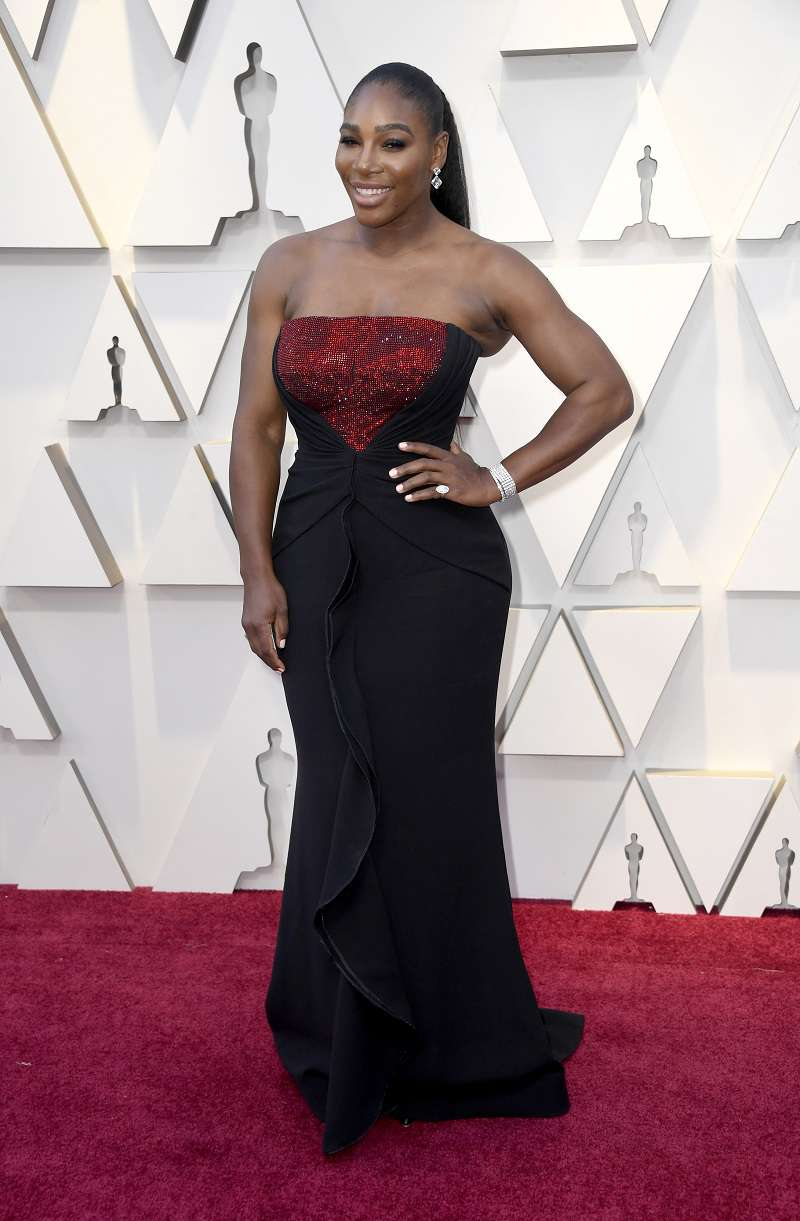 Справжня богиня! Серена Вільямс сублімує на Оскарі в сукні Armani Privé з ідеальною підгонкою
