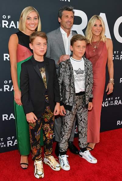Patrick Dempsey compartió la alfombra roja con su familia y sus fanáticos se derritieron de ternura por ellos