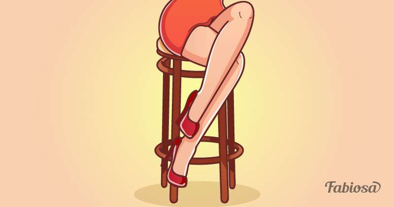 Body Language: What A Woman's Preferred Way Of Sitting Can Tell About Her Character