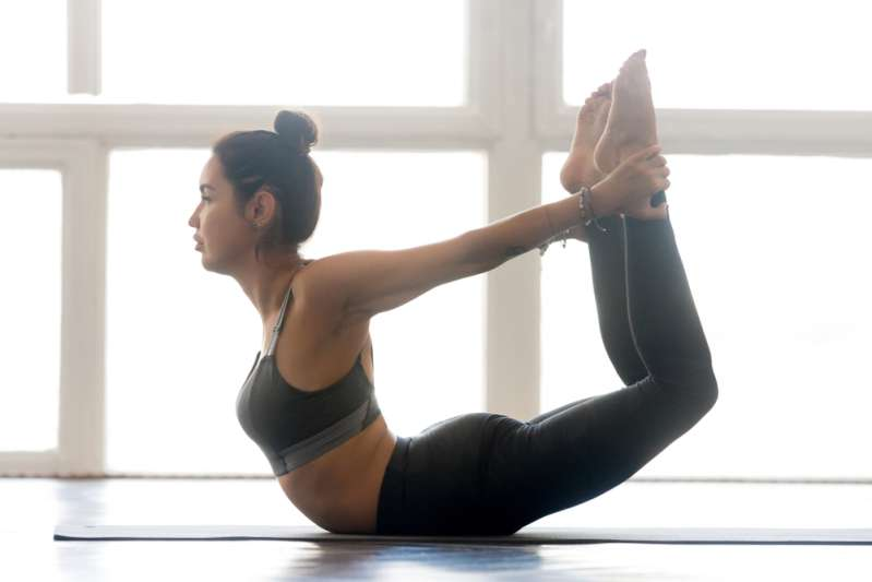 Period Hacks That Could Help You To Avoid Uncomfortable And Embarrassing SituationsPeriod Hacks That Could Help You To Avoid Uncomfortable And Embarrassing SituationsWoman practices yoga, the bow pose in particular