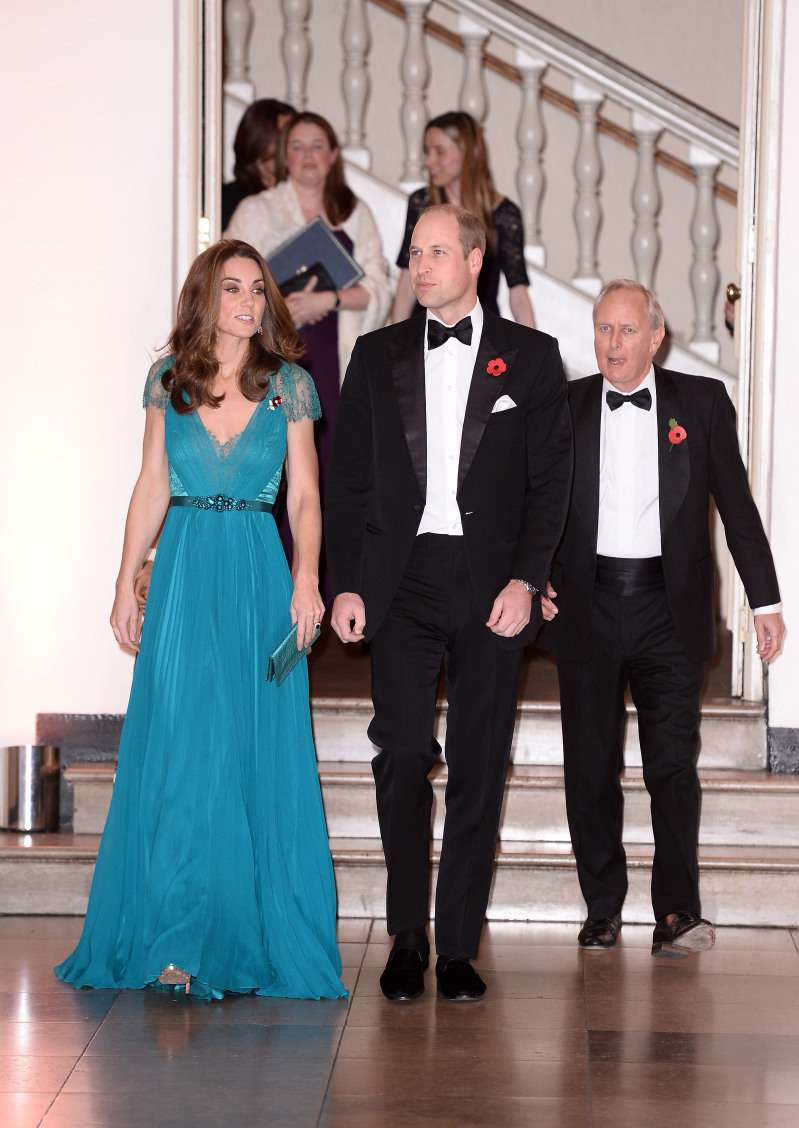 Kate Middleton Is The Picture Of Perfection In Recycled Teal Dress At The Tusk Conservation Awards