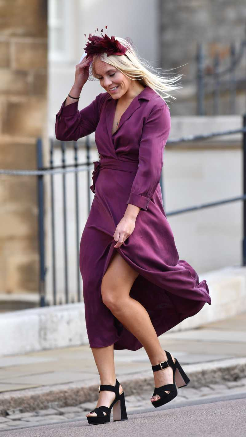 Problem With The Ring, Naughty Children, The Bride's Radiant Smile, And Other Memorable Moments From Princess Eugenie's WeddingGuests attend the wedding of Princess Eugenie of York to Jack Brooksbank at St. George's Chapel on October 12, 2018