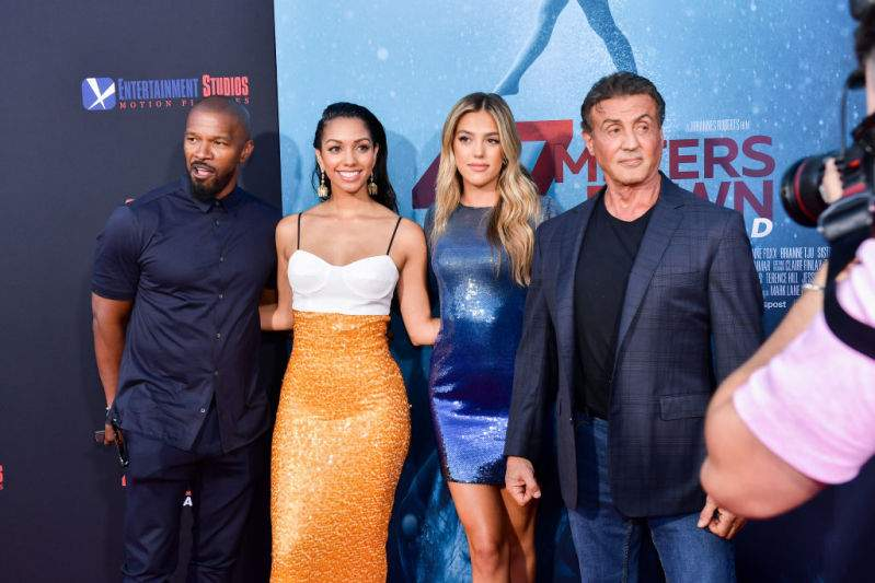 Sylvester Stallone And Jamie Foxx Are The Epitome Of Proud Dads As They Attend A Film Premiere With DaughtersSylvester Stallone And Jamie Foxx Are The Epitome Of Proud Dads As They Attend A Film Premiere With DaughtersSylvester Stallone And Jamie Foxx Are The Epitome Of Proud Dads As They Attend A Film Premiere With DaughtersSylvester Stallone And Jamie Foxx Are The Epitome Of Proud Dads As They Attend A Film Premiere With Daughters