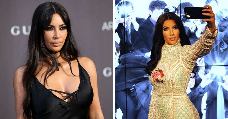Test: Can You Tell The Wax Figure From The Real Celebrity?kim kardasian