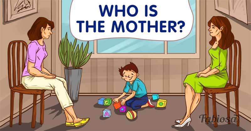 Intuition Check: Only One Woman Is The Mother