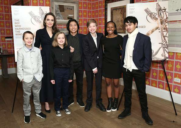 Rare Public Appearance Of Angelina Jolie And Her 6 Children Since Break Up From Brad Pitt Makes Headlines
