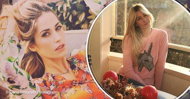 Elena Santarelli Calendario.Elena Santarelli Ringrazia I Medici Che Hanno In Cura Suo