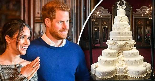 Gâteau De Mariage Du Prince Harry Galerie Didées Dimages