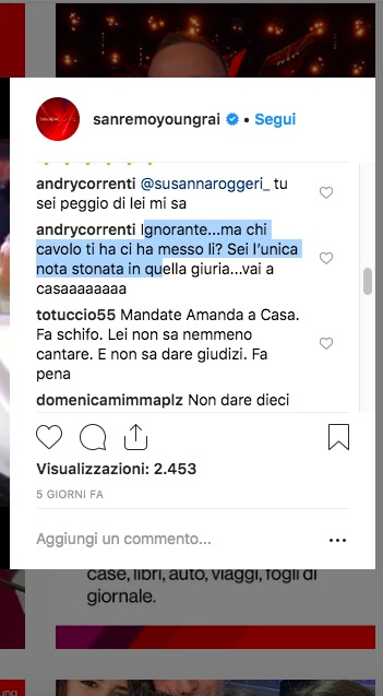 Brutte notizie per Antonella Clerici: Guai in vista a causa degli insulti di Amanda Lear