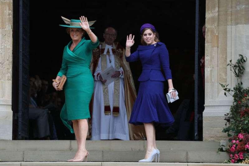 """De vuelta a la familia: Sarah Ferguson triunfó en su papel como """"madre de la novia"""" en la boda realDe vuelta a la familia: Sarah Ferguson triunfó en su papel como """"madre de la novia"""" en la boda realsarah ferguson royal wedding"""