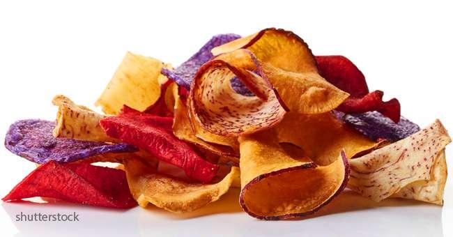 Voici une recette simple pour pr parer au four des chips v g tariennes et saines - Chips fait maison au four ...