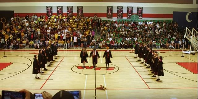 High School Dance Team Stupefies Once Again With A Well-Delivered Harry Potter Dance Routine
