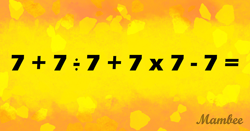 A Brain Workout: Can You Solve This Viral Math Equation On The First Try?A Brain Workout: Can You Solve This Viral Math Equation On The First Try?A Brain Workout: Can You Solve This Viral Math Equation On The First Try?A Brain Workout: Can You Solve This Viral Math Equation On The First Try?