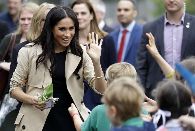 Pregnant Meghan Markle Revealed How She Really Spends Her Spare Time In The Palace When Talking To Kids In Melbourne