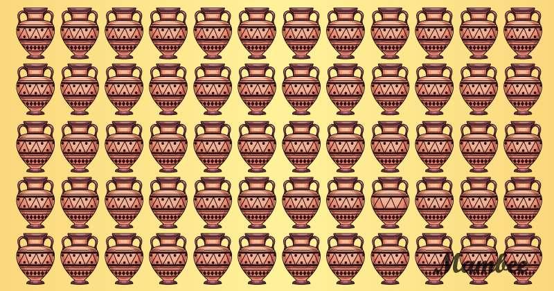 Una di queste belle anfore non va con le altre; lo troverai in meno di due minuti? puzzle solving, puzzle emoji anfora, puzzle emoji stravagante