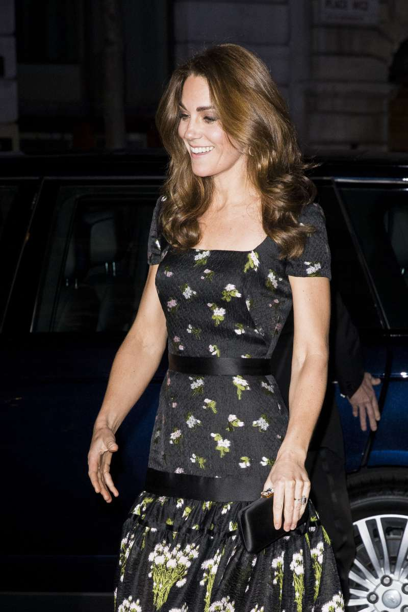 Kate Middleton Proves She's A Princess Donning A $4,500 Alexander McQueen Black Gown At Portrait GalaKate Middleton Proves She's A Princess Donning A $4,500 Alexander McQueen Black Gown At Portrait Gala