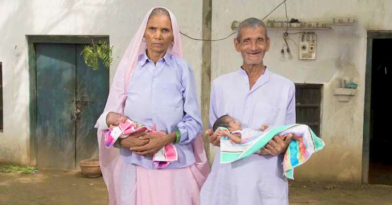 Woman Became World's Oldest Mother After Giving Birth To Twins At The Age Of 70