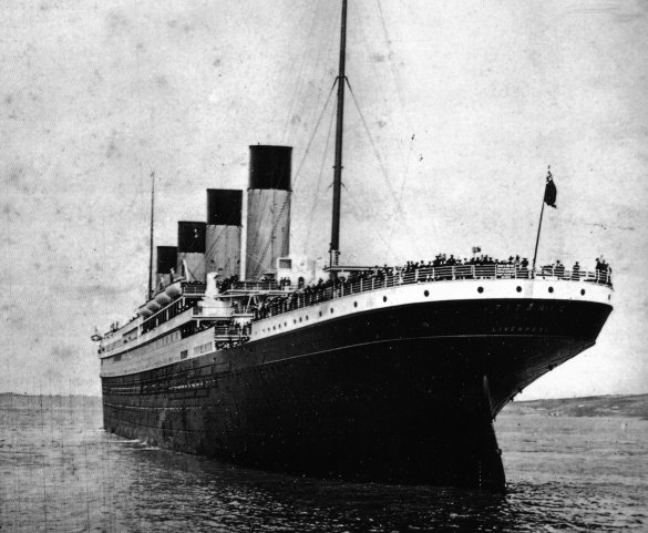 22 imágenes raras del Titanic que provocan escalofríos y emoción al mismo tiempo