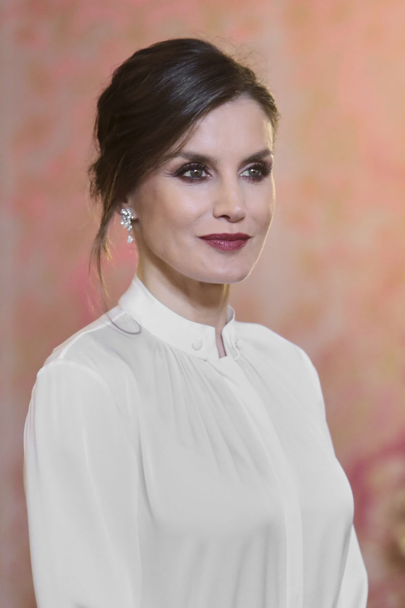 Is This Even Fashionable? Queen Letizia Made A Nod To The Latest Trend With A Statement Coat