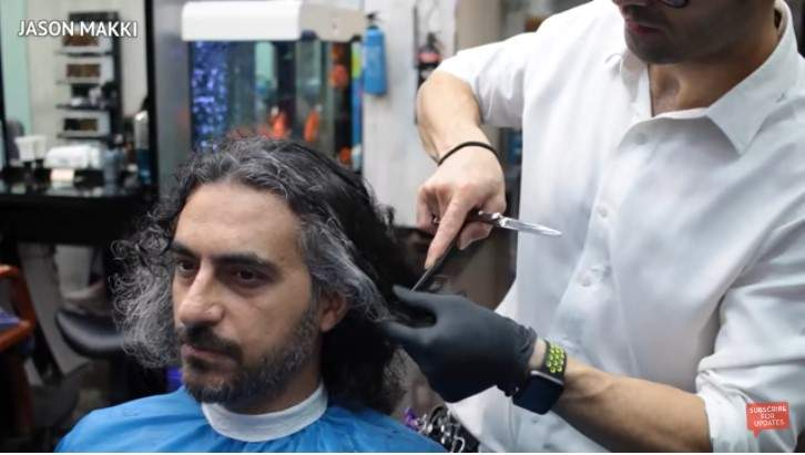 """Silver-Haired Man Is Transformed Into A """"Persian Prince"""" After Epic MakeoverSilver-Haired Man Is Transformed Into A """"Persian Prince"""" After Epic MakeoverSilver-Haired Man Is Transformed Into A """"Persian Prince"""" After Epic Makeover"""