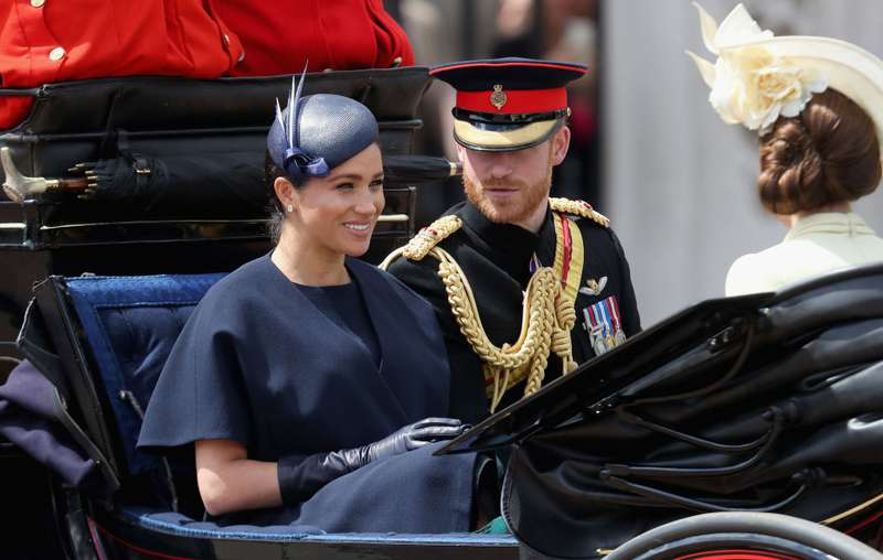 "Kate y el príncipe William no llegaron juntos al ""Trooping The Colour"" 2019: ¿problemas en casa?-"