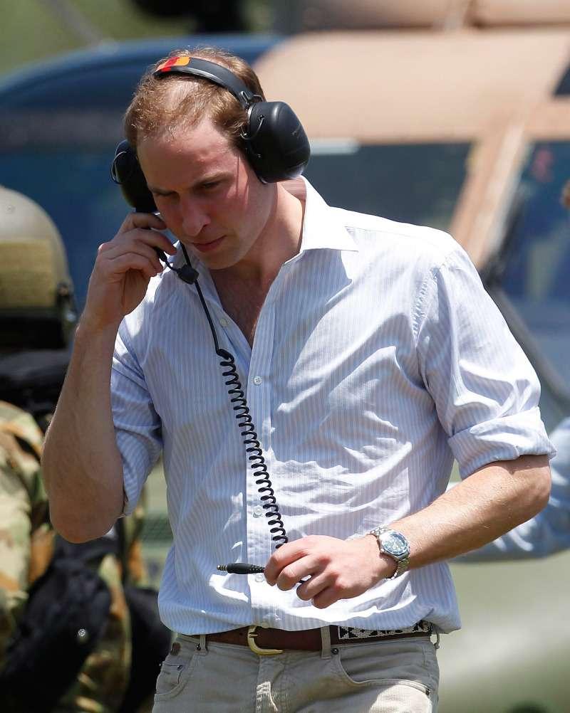 Oh non ! Un expert confirme que la calvitie du prince Harry s'étend, et Meghan pourrait en être la causeprince william getting bald