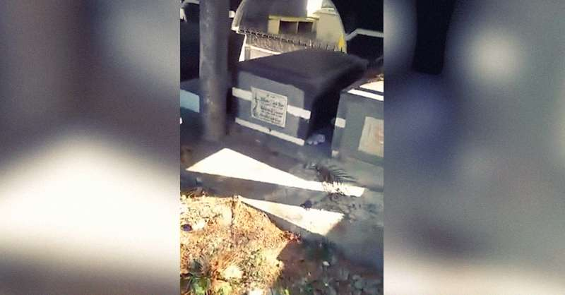 Ils ont entendu des pleurs près d'un cimetière et ont vu un nouveau-né de 2 mois abandonné entre deux tombes